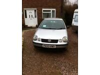 Volkswagen Polo 1.2 petrol 03reg,petrol/GAS, GAS,GAS..very economic car,MOT 03/july/17