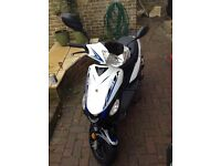 50 cc moped For sale due to upgrade to 125