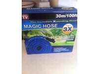 Expanding 100Ft Expandable Flexible Garden Water Hose Pipe Spray Gun Non Kink