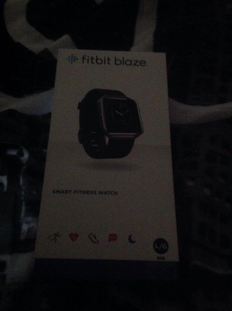 Fitbit blaze still in box never opened