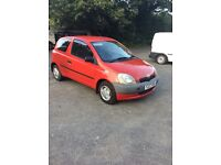 toyota Yaris 1.0 litre for sale