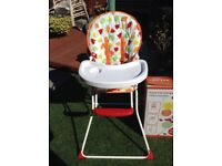 Compact Folding High Chair