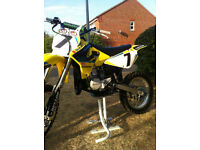 rm 85 Suzuki Motocross Big Wheel Bike 2009 Not cr yz ktm kx
