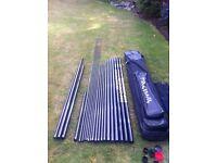 Daiwa whisker 16m whp pole 5 x topkits