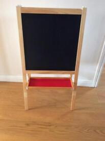 Children's Easle -blackboard and whiteboard