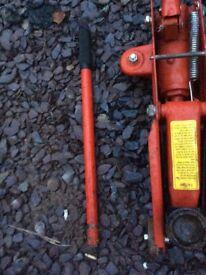 Trolley jack 2 ton van trailer mini tractor trike