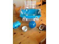 Hamster cage & accessory bundle