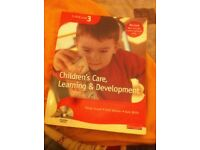 Children's care, learning and development book