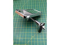 DESMO Interior Drivers Mirror for a Classic Car. Chrome. As New. Never been fitted.