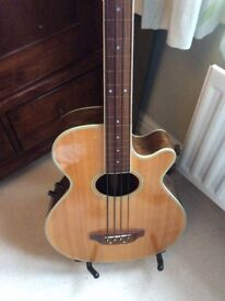 Crafter acoustic bass