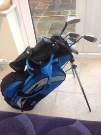Kids bag and clubs