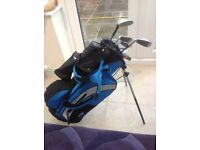 Kids bag and clubs