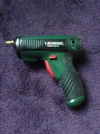 Cordless screwdriver (missing charger)