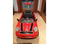 Mini Cooper Push Buggy