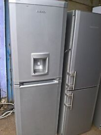 beko Silver fridge freezer.....free delivery