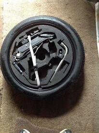 Golf Mk5 Space Saver Wheel & Car Jack Set Complete.