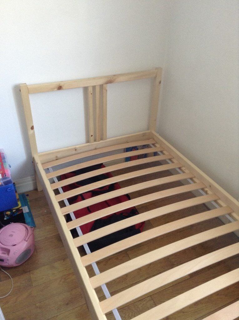 ikea fjellse single bed frame no mattress two available - Ikea Single Bed Frame