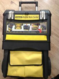 STANLEY MOBILE WORK CENTER 4 in 1 TROLLY TOOLBOX- ( NEW ) £15 --- THIS IS NOW SOLD