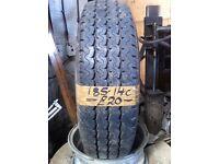 185-14C Trailermaxx 104/102N 6mm Part Worn Tyre