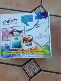 eBrush airbrush system for pens