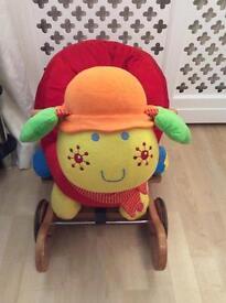 Mamas and Papas Rock and Ride Lotty Ladybird