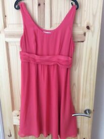 Coral Boden dress, size 14