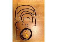 Lava cable piston guitar pedal patch cable