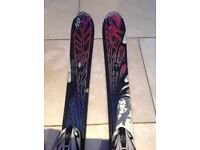 K2 Women's Pre Owned Free Luv Skis 142cm Pink/Black/White