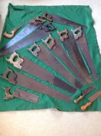 Collection of Antique saws