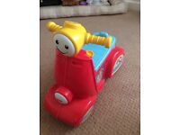 Fisher Price sit on Scooter excellent condition