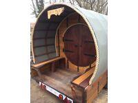 Shepherds hut, Glamping, pod, children's playhouse, gypsy style caravan, holiday home, accommodation