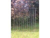 Garden gate or drive gate.