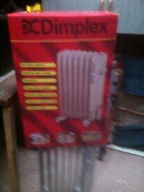 Dimplex oil heater radiator electric