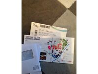 1 Black Sabbath Standing Ticket Sat 4th February Genting Arena