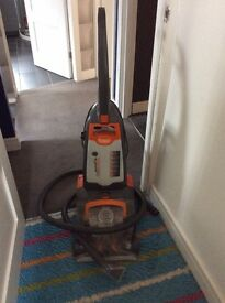 Vax carpet cleaner with upholstery accessory