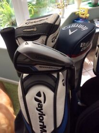 Taylormade full set golf clubs
