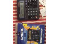 Casio electronic desktop calculator 12 digit new big display