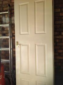 4 white internal doors