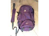 Karrimor 50litre rucksack for sale (expands to 70litre). £35 ONO