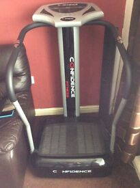 Confidence vibrating power plate