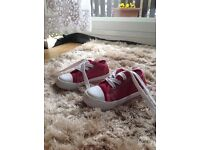 Sneaker shoes pink glittery size22