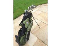 US Golf Junior starter golf clubs and bag