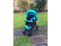 Avito ABC design stroller pushchair sturdy with footmuff & large basket