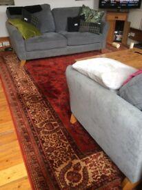 Large wool rug 12 foot x9 foot John Lewis