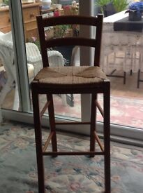 Pine Kitchen Breakfast Bar Stool