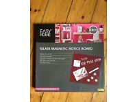 Magnetic notice board - new