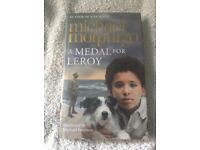 [new] Michael Morpurgo kids book - A Medal for Leroy hardback