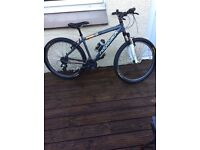 Nearly new boys bike for someone about 12-15 years old, In really good condition, 24 gears ,