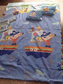 Vertbaudet and Woolworths pirate quilts