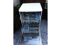 Indesit dishwasher, spotlessly clean and in perfect working order